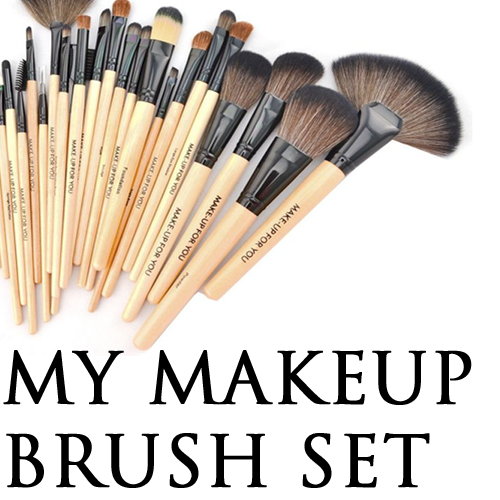 My Make Up Brush Set